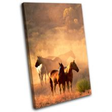 Horses Wildlife Animals - 13-1212(00B)-SG32-PO